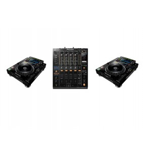 Pack Event A - 2 platines + 1 table de mixage