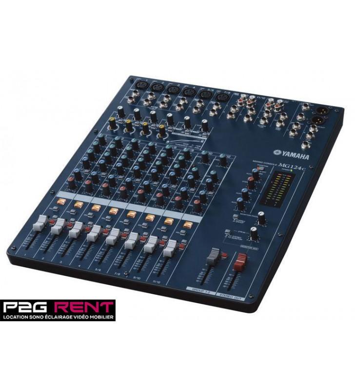 Console De Mixage Yamaha Mg124c